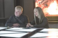 Plutarch and Coin Mockingjay part 1
